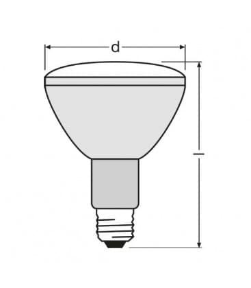 HCI-Par30 35W-830 wdl fl 30D E27