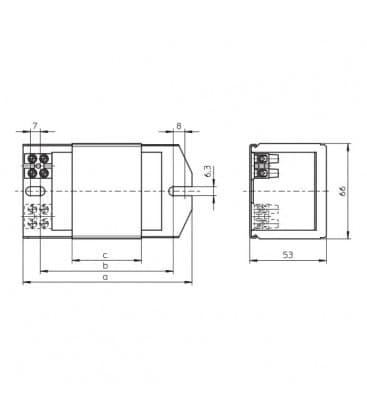 Ballast Q250.528 230V 50HZ HM