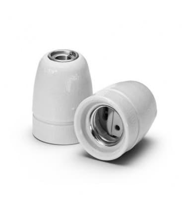 Portalampara E27 Porcelana M10 62061
