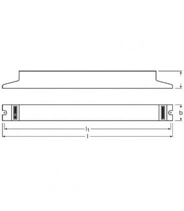QTP-dL 2x36-40W 230-240V Quicktronic professional