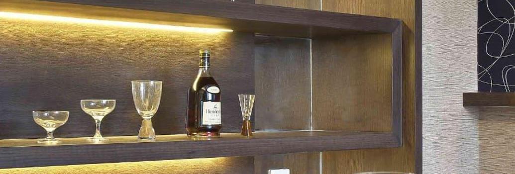 LED Luminaires pour meubles