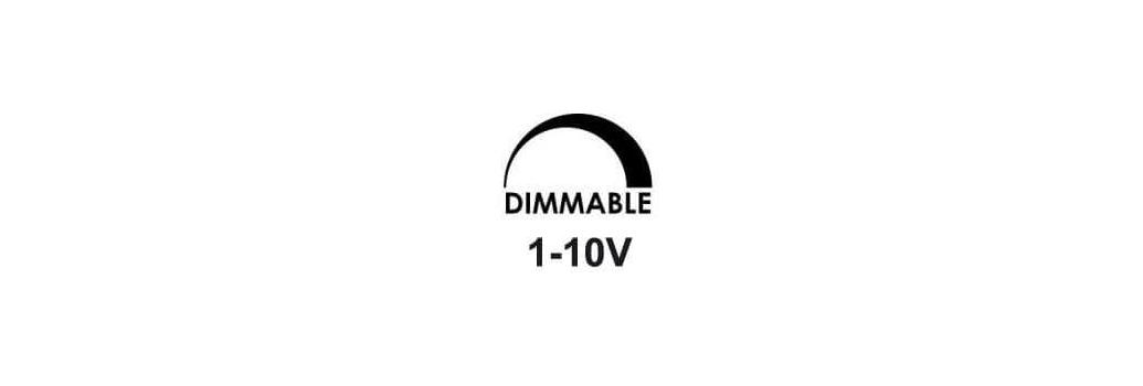 Dimmable 1-10V