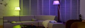 Lampes LED colorées