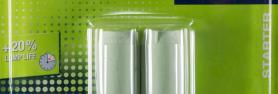 Starters for ignition of fluorescent lamps