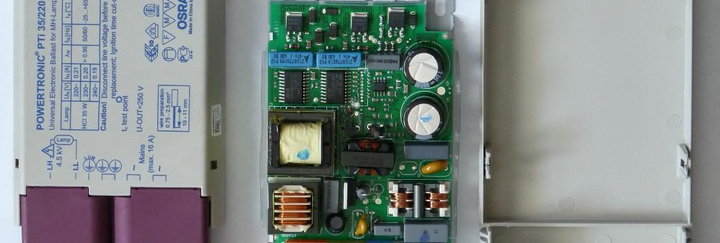 Ballasts, electronic HID