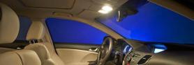 Ampoules pour l'intérieur de la voiture
