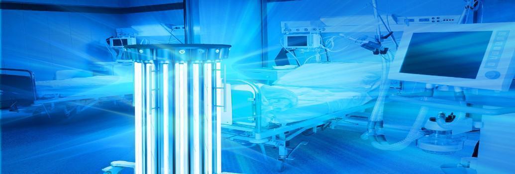 UVC-Leuchten zur Desinfektion