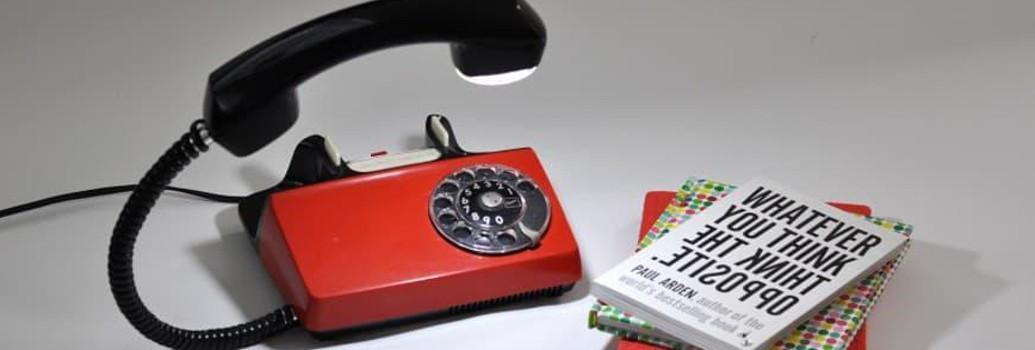 Telefono lampadas