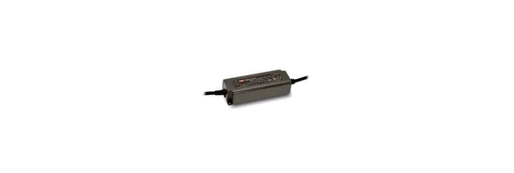 Dimmable, 12V-24V, Mean Well PWM series, Led power supplies