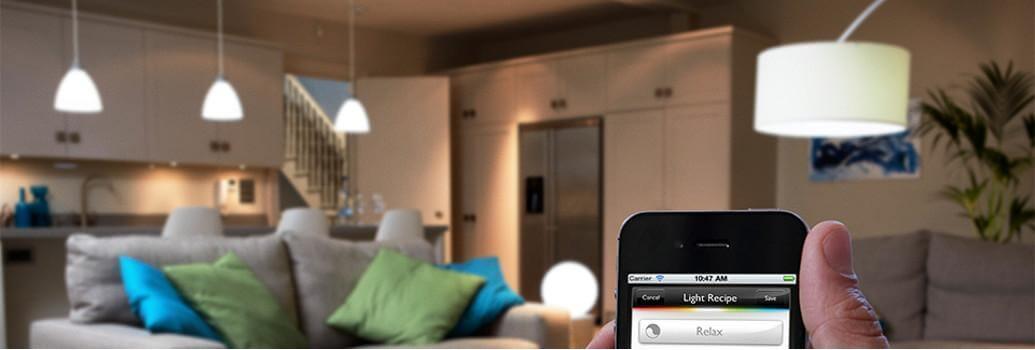 Lámparas inteligentes, automatización de la iluminación
