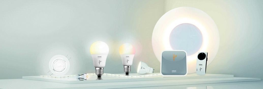Iluminación interior inteligente Osram Lightify